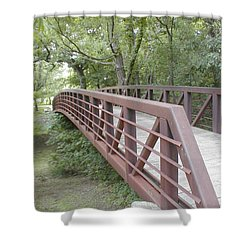 Bridge To Beyond Shower Curtain