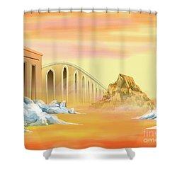 Bridges Of Parting Shower Curtain