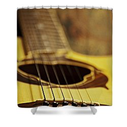 Bridging The Gap Shower Curtain by Christopher Gaston