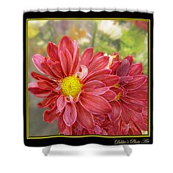 Shower Curtain featuring the digital art Bright Edges by Debbie Portwood