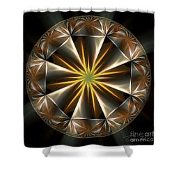 Bright Star Shower Curtain by Danuta Bennett