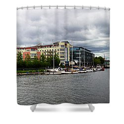 Bristol Panoramic Photograph Shower Curtain