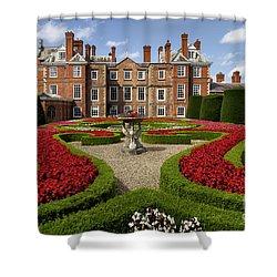 British Garden  Shower Curtain by Adrian Evans