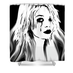 Broken Promises Shower Curtain by Tbone Oliver