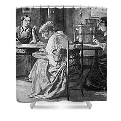Bront� Sisters Shower Curtain by Granger