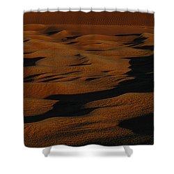 Bronze Shower Curtain