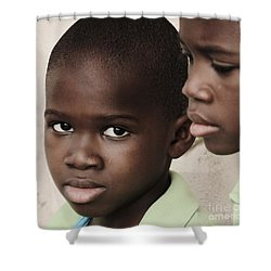 Brothers Shower Curtain by Rene Triay Photography