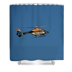 Broward County Sherriff Cop Ter Shower Curtain by Rob Hans