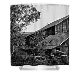 Brownies Barn  Shower Curtain