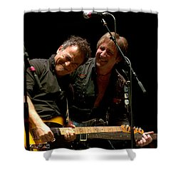 Bruce Springsteen And Danny Gochnour Shower Curtain