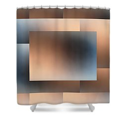 Brushed 01 Shower Curtain by Tim Allen