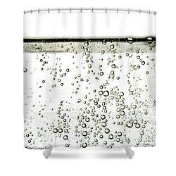 Bubbles Shower Curtain by Photo Researchers, Inc.
