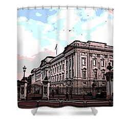 Buckingham Palace Shower Curtain by George Pedro