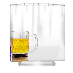 Bud Light Platinum Shower Curtain by Keith Allen