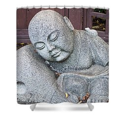 Buddha Shower Curtain by Chalet Roome-Rigdon