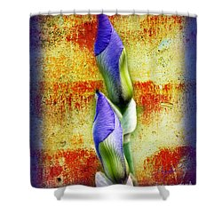 Buddies Shower Curtain by Andee Design