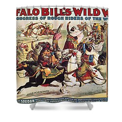 Buffalo Bill: Poster, 1899 Shower Curtain by Granger