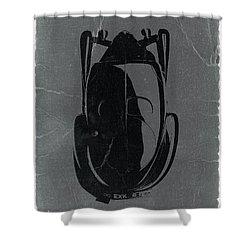 Bugatti 57 S Atlantic Top Shower Curtain by Naxart Studio