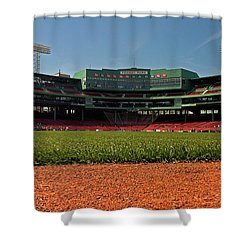 Bugs Eye View From Center Field Shower Curtain by Paul Mangold