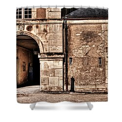 Building In France Shower Curtain by Charuhas Images