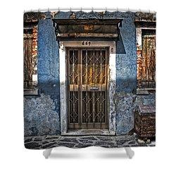Burano - Venezia Shower Curtain by Joana Kruse