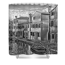Burano 3 Shower Curtain by Mauro Celotti