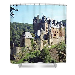 Burg Eltz In Profile Shower Curtain