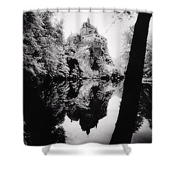 Burg Kriebstein Shower Curtain by Simon Marsden