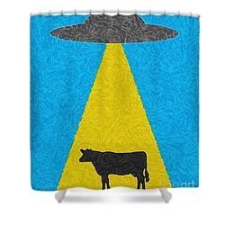 Burger To Go Shower Curtain