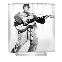 Buster Keaton, 1964 Shower Curtain by Granger
