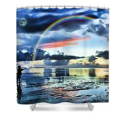 Butterfly Heaven Shower Curtain by Tom Schmidt
