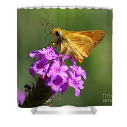Butterfly Kisses Shower Curtain by Patrick Witz