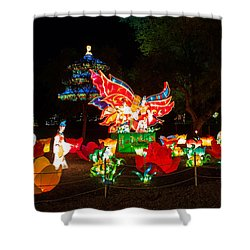 Butterfly Lovers Shower Curtain by Semmick Photo