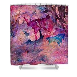 Butterfly Shower Curtain by Rachel Christine Nowicki
