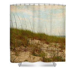 By The Sea Shower Curtain by Judi Bagwell