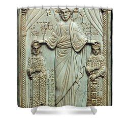 Byzantine Art Shower Curtain by Granger