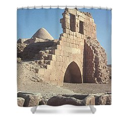 Byzantine Ruins Shower Curtain by Photo Researchers, Inc.