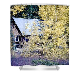 Cabin Hideaway Shower Curtain by James BO  Insogna