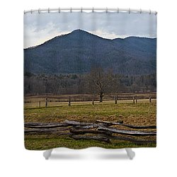 Cade's Cove - Smoky Mountain National Park Shower Curtain by Christopher Gaston