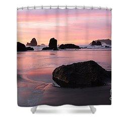 California Coast 3 Shower Curtain by Bob Christopher