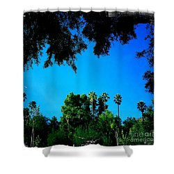 California Dreaming Shower Curtain by Nina Prommer