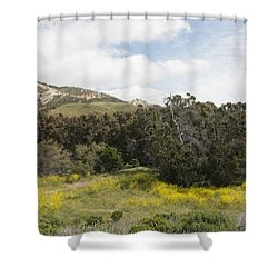 California Hillside View IIi Shower Curtain