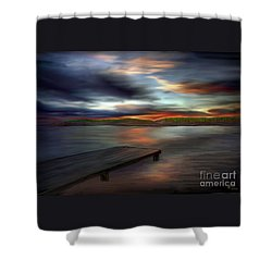 California Sky Shower Curtain