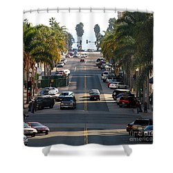 California Street Shower Curtain