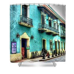 Calle Cristo Shower Curtain by Debbi Granruth