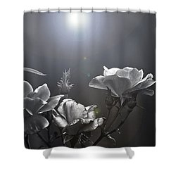 Called Upon Shower Curtain by Kim Henderson
