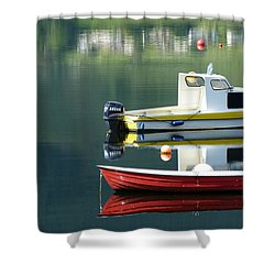 Shower Curtain featuring the photograph Calm Waters by Lynn Bolt