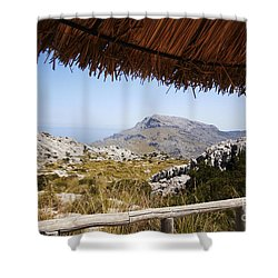 Calobras Road Shower Curtain