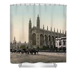 Cambridge - England - Kings College Shower Curtain by International  Images