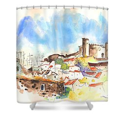 Campo Maior In Portugal 02 Shower Curtain by Miki De Goodaboom